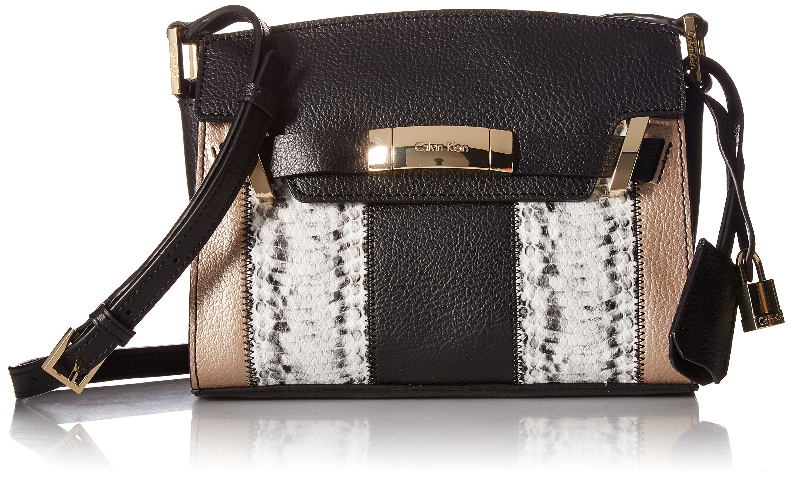 Calvin Klein Brooke Patchwork Combo Novelty Crossbody, Patchwk Combo
