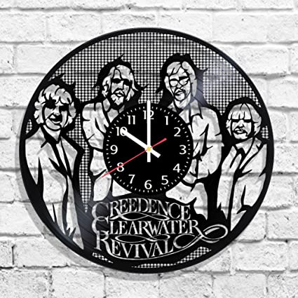 Creedence Clearwater Revival rock band design wall clock, Creedence Clearwater Revival band decal, Creedence