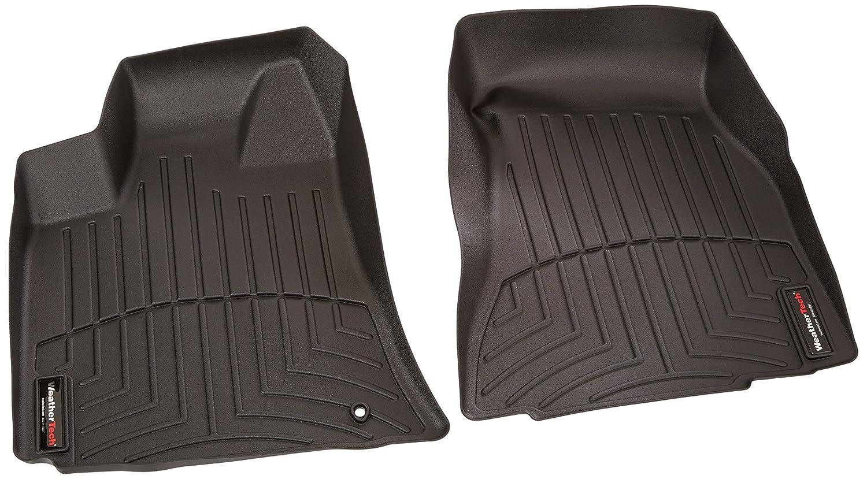 Black 440691 WeatherTech Custom Fit Front FloorLiner for Select Chrysler//Dodge Models