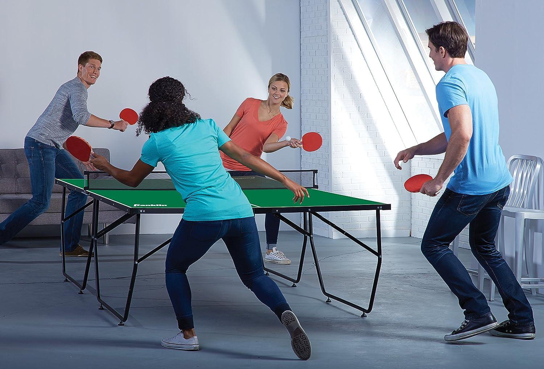 Amazon.com: Franklin Sports fácil de montar mesa de ping ...