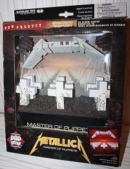 McFarlane - 3D Cover Metallica Master of Puppets: Amazon.es: Juguetes y juegos