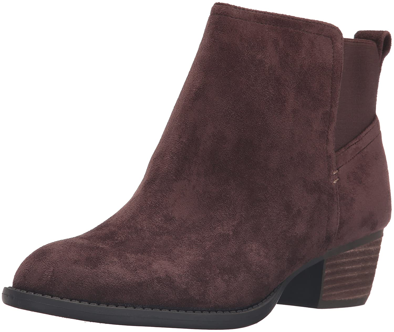 Dr. Scholl's Women's Jorie Boot B01B3RM2Q8 6 B(M) US|Brown Microsuede