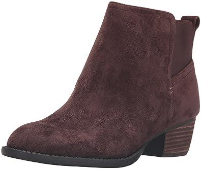 Dr. Scholl's Shoes Women's Jorie Boot, Brown Microsuede, ...