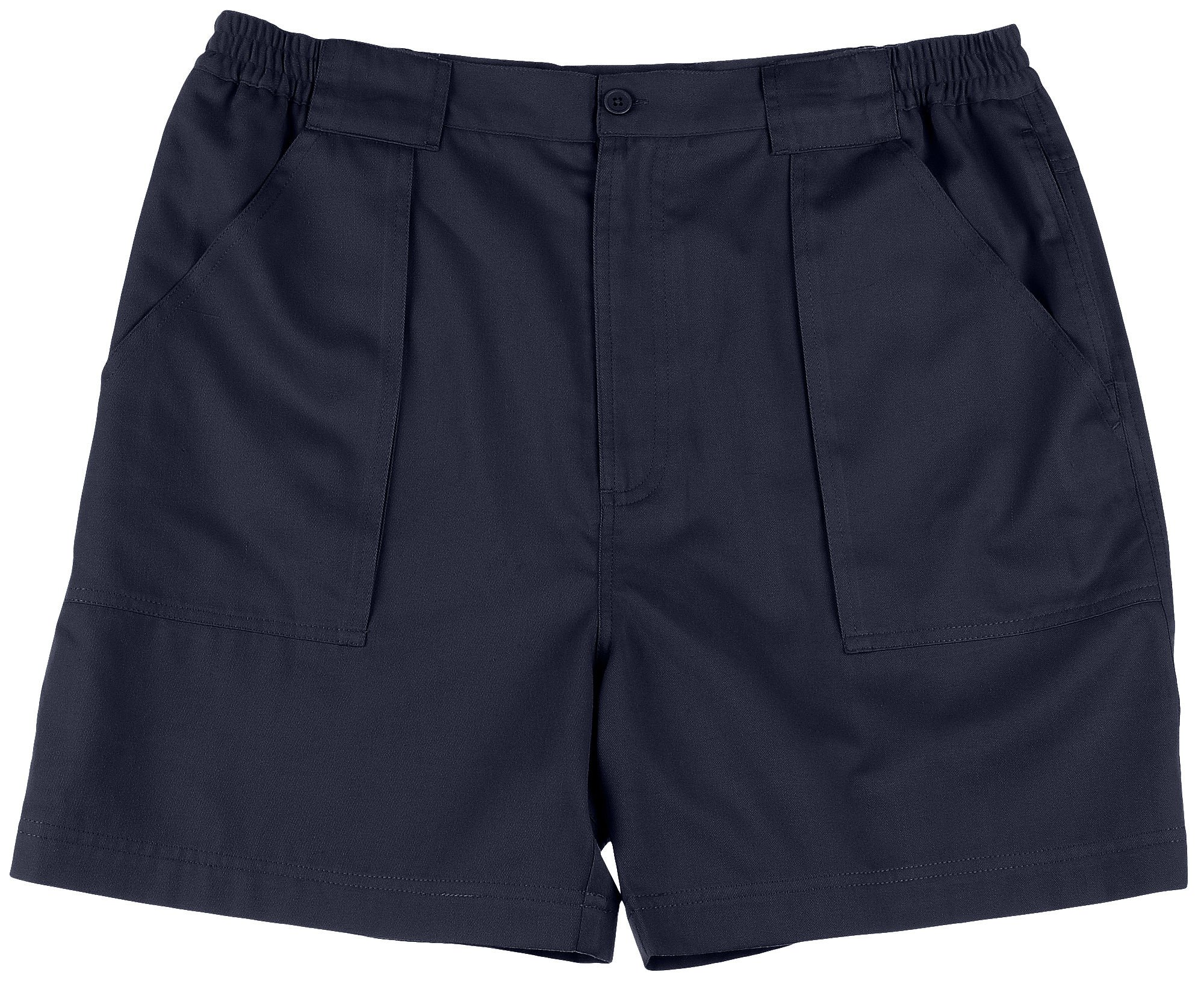 Windham Pointe Mens Side Elastic Swiss Army Shorts 34W Peacoat navy