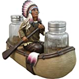 Native American Salt and Pepper Shaker Set By DWK