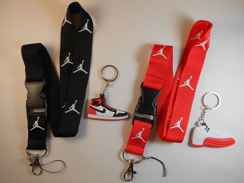 Red Jordan Jumpman Keychain