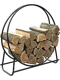 Outdoor Firewood Racks Amazon Com