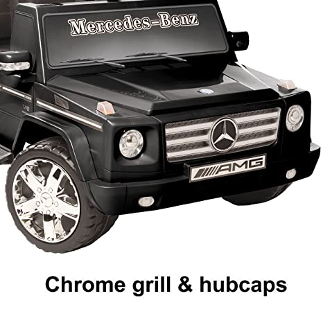 amazoncom national products 12v black mercedes benz g class battery operated ride on toys games