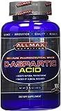 ALLMAX D-ASPARTIC ACID Powder, 100% Pure Pharmaceutical Grade, Dietary Supplement, 100g, 32 Servings per Container