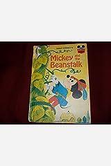 MICKEY & THE BEANSTALK (Disney's wonderful world of reading) Hardcover