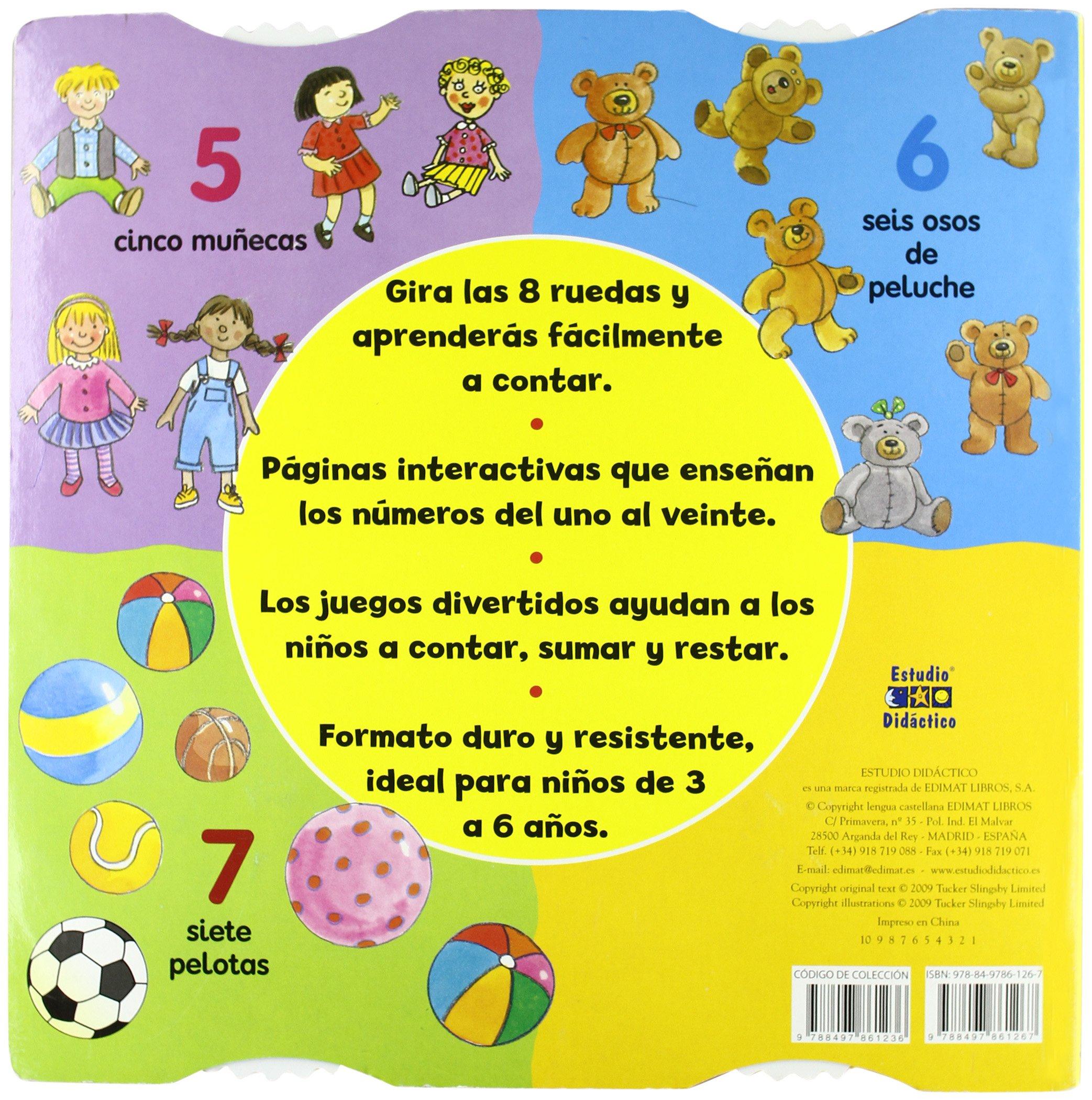 Amazon.com: 123: Gira la rueda, aprende a contar (Spanish Edition) (9788497861267): Tucker Slingsby Ltd.: Books