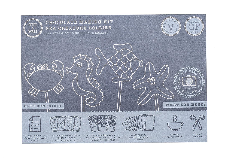 Petite Sweet Chocolate Making Kit 4 X Sea Creature