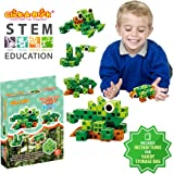 Click-A-Brick Rainforest Rascals 30pc Building Blocks Set | Best STEM Toys for Boys & Girls Age 4 5 6 Year Old | Kids 3D Creative Puzzle Fun | Top Educational Learning Gift For Children Ages 4 - 12