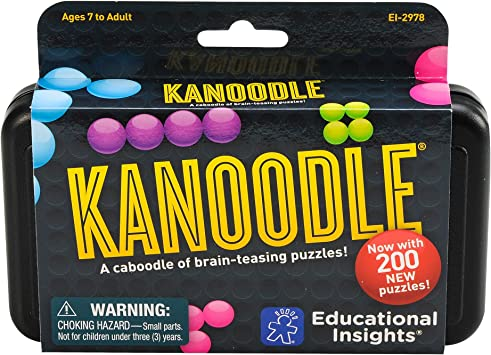 Educational Insights Kanoodle - Brain Twisting 3-D Puzzle Game for Kids & Adults