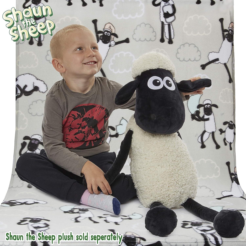 Gar/çon Avec Shaun Le Mouton Style Dessin Anim/é Wallace et Gromit La Ferme Contre-Attaque Cadeau Enfant Parure de Lit Enfant avec 1 Taie Shaun The Sheep Housse de Couette Fille