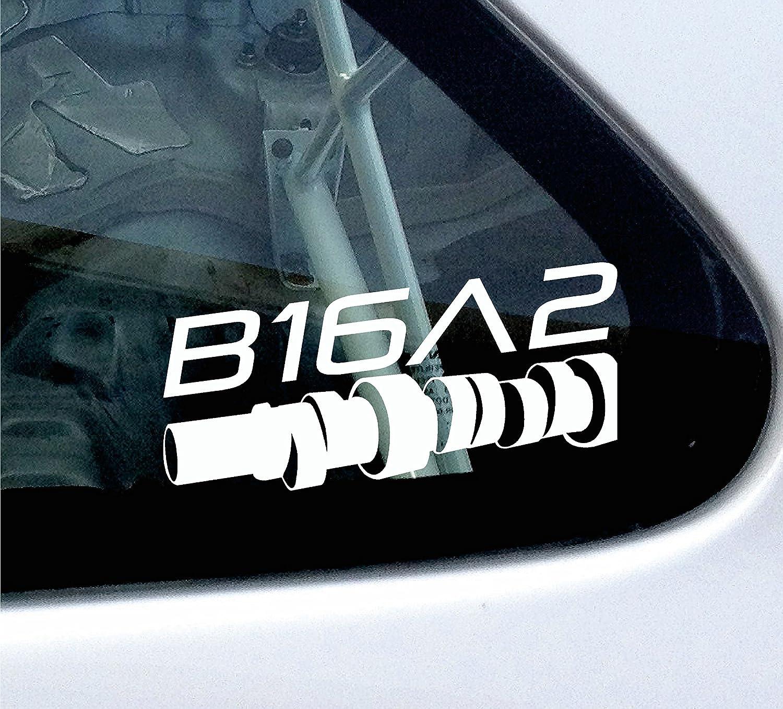 B16/A2/Cam Style/ /Adhesivo para Honda CRX EG EK VTI VTEC 1.6/DOHC CIVIC EF
