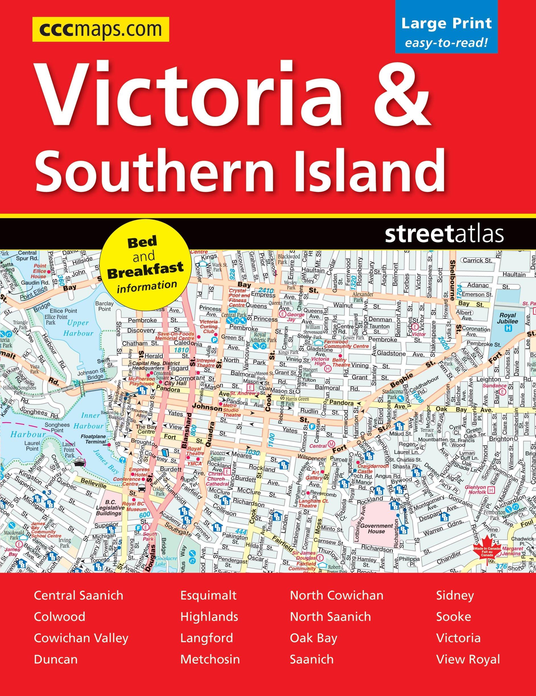 Victoria & Southern Island Street Atlas