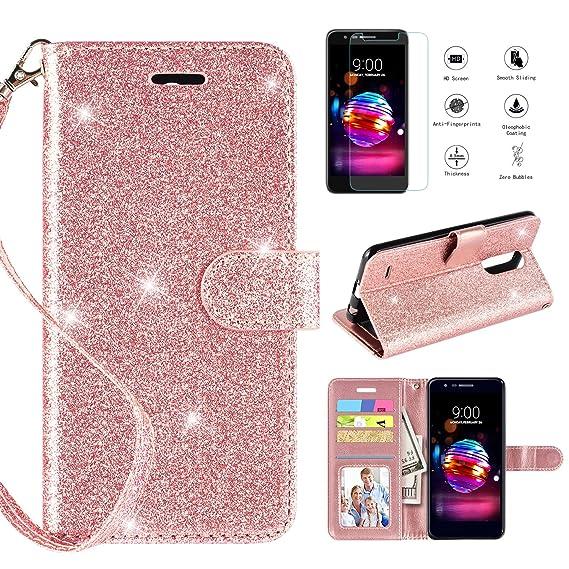 brand new 32e1f f44ea CASEKEY LG K30 Case,LG K10 2018/LG Premier Pro LTE/Harmony 2/LG CV3  Prime/LG Xpression Plus/LG Phoenix Plus Case w Screen Protector, Kickstand  Card ...