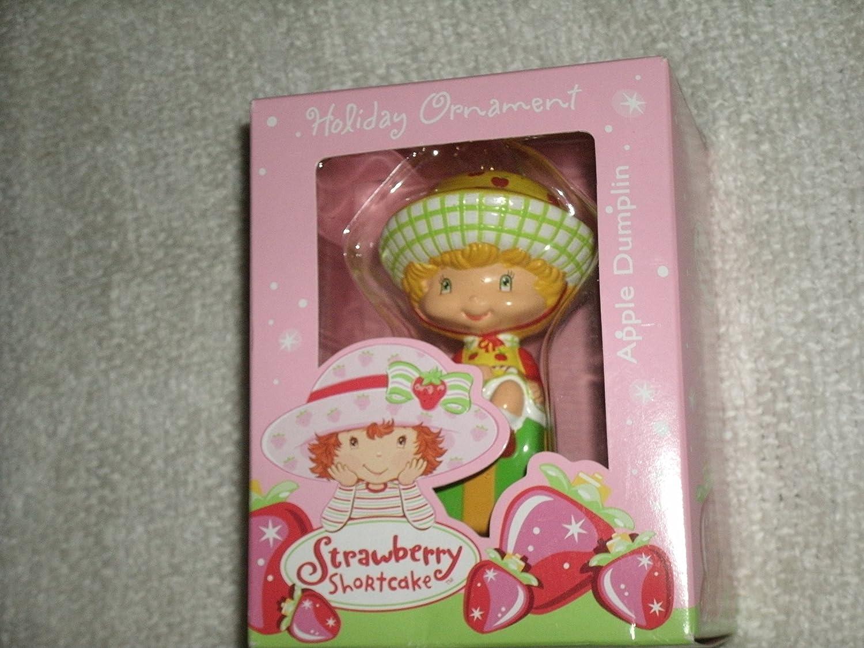 Strawberry Shortcake Christmas Ornament 2004 MIB Apple Dumplin