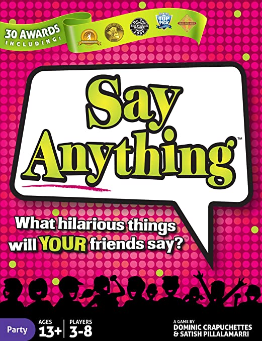 Review North Star Games Say Anything Party Game   Card Game with Fun Get to Know Questions