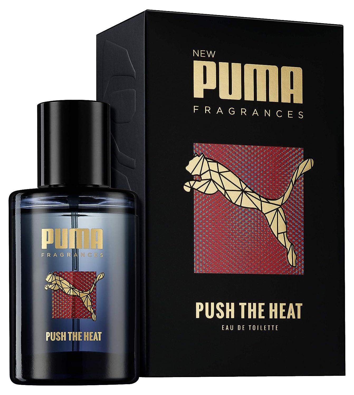 Abstand wählen hohe Qualitätsgarantie bekannte Marke Puma Push The Heat Fragrance Eau De Toilette 50 ml: Amazon ...