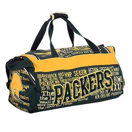 5f50c068ac81 NFL Football Historical Art Limited Duffle Bag- Pick Team (Green Bay Packers )