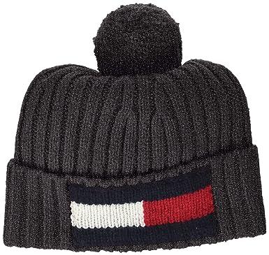 def0e15aef6 Tommy Hilfiger Unisex kids Big Flag Beanie  Amazon.co.uk  Clothing