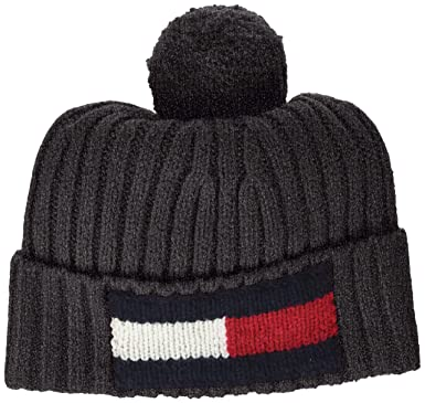 9abeb34bb0c0 Image Unavailable. Image not available for. Colour  Tommy Hilfiger Men s Big  Flag Beanie
