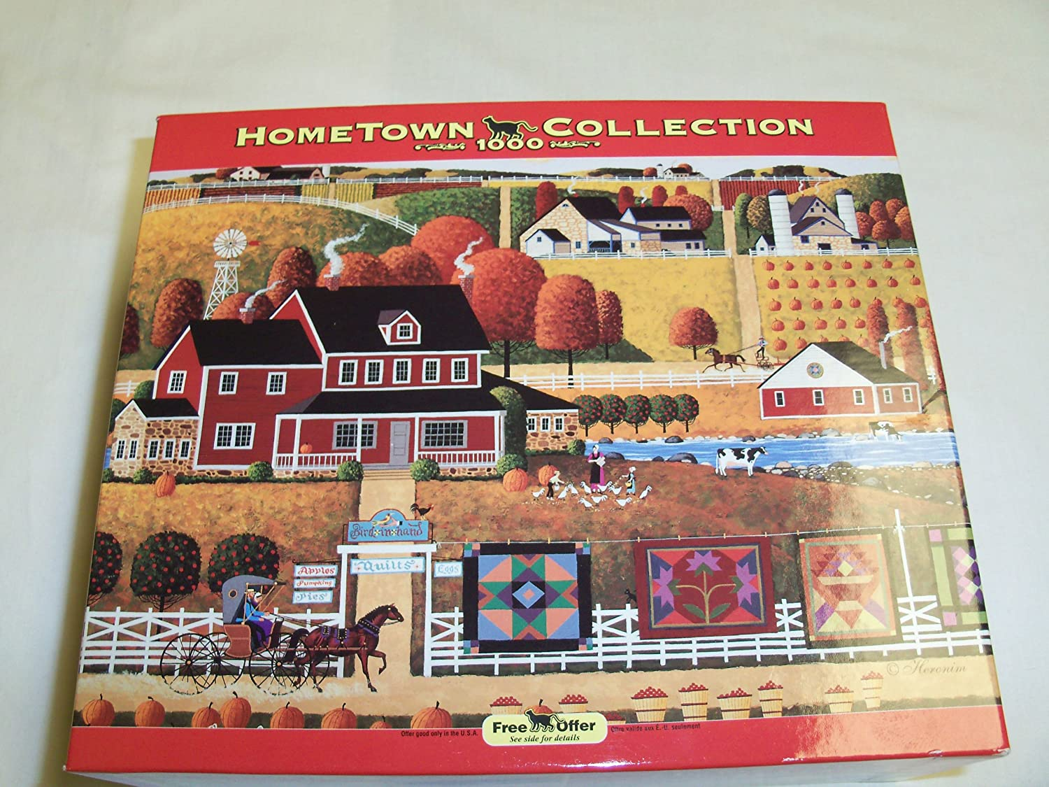 Maple Sugaring Rose Art Hometown Collection 1000 Piece Puzzle