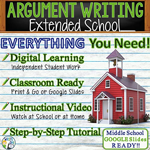 Argumentative Writing Essay - Distance Learning, Independent Student  Instruction, & In Class Lesson W/Instructional Video, PPT