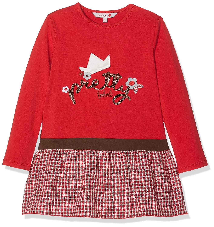 boboli Combined Dress For Baby Girl Vestido para Beb/és