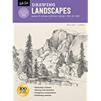 Landscapes with William F. Powell (Drawing step by step): 134 step-by-step drawings