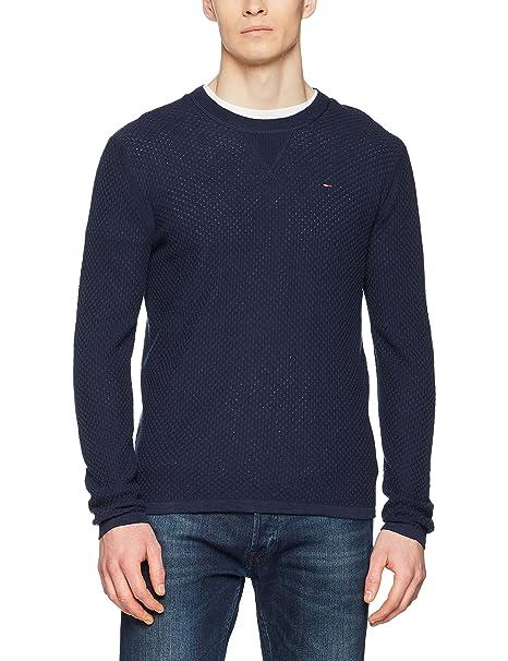 Tommy_Jeans TJM Essential Sweater, Suéter para Hombre