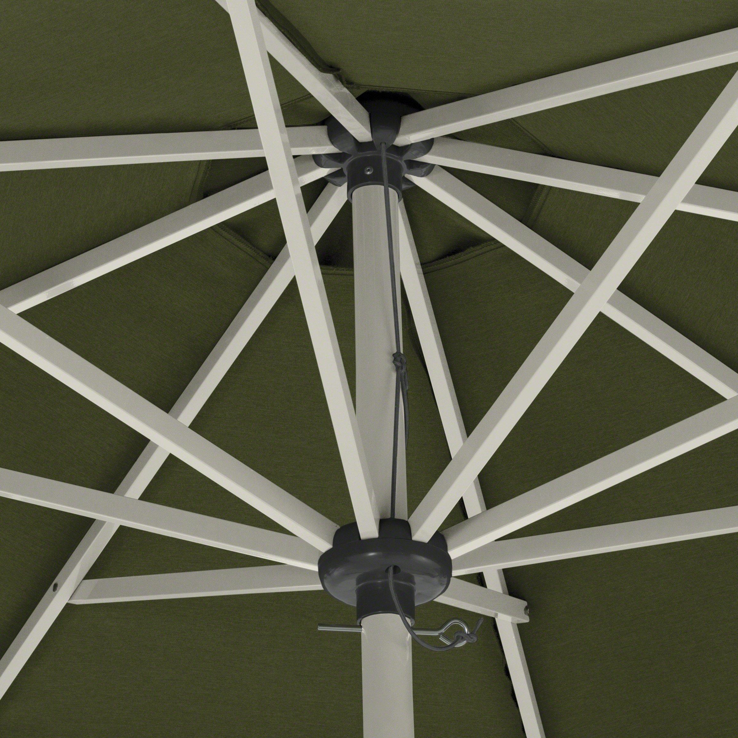 Classic Accessories Montlake FadeSafe 9-Foot Round Aluminum Patio Umbrella, Heather Fern by Classic Accessories (Image #6)