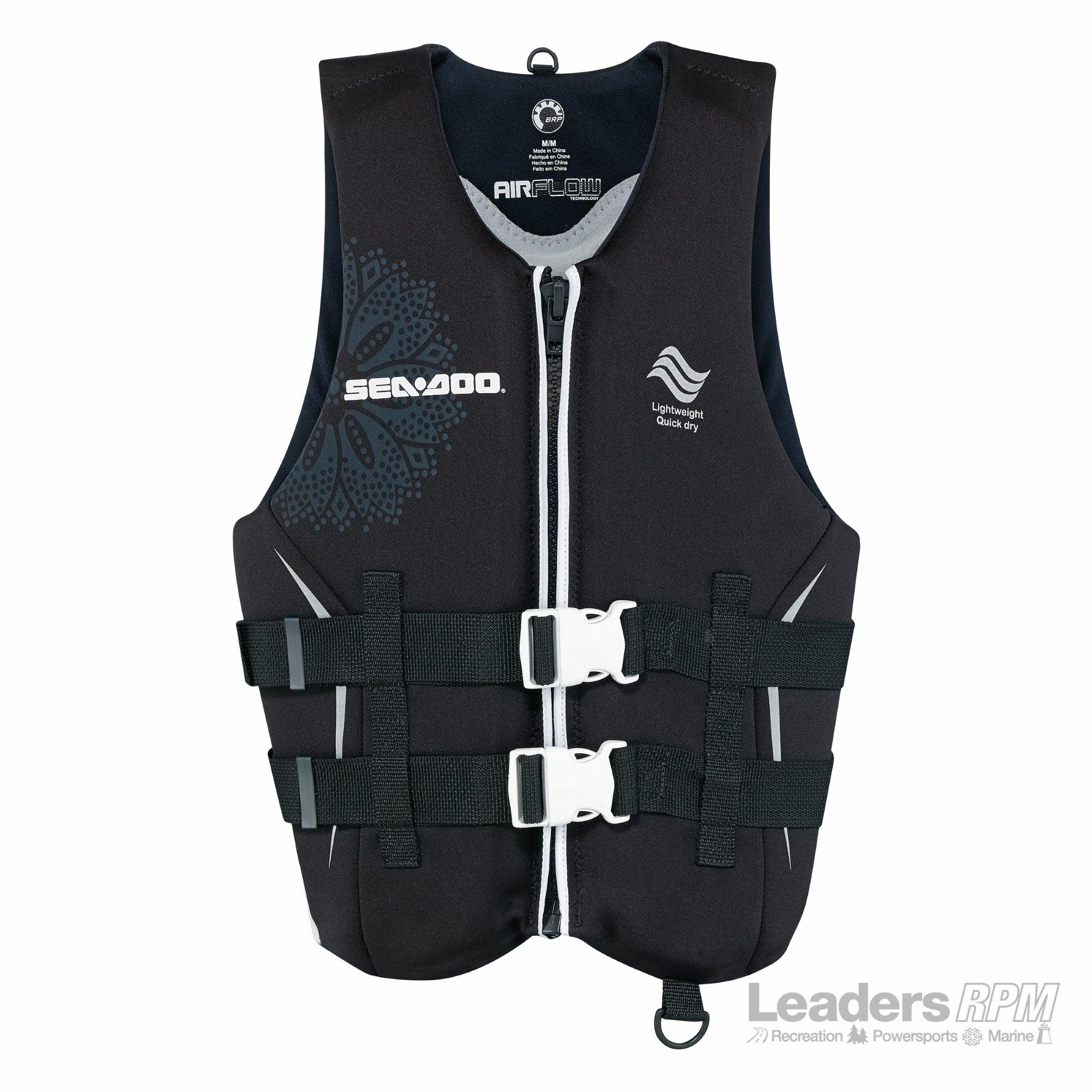 BRP Sea-Doo Men's 2015 Ecoprene Airflow PFD Life Vest Jacket (3X-Large)