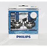 philips h4 12342 blue vision ultra headlight bulb 12v 60 55w car motorbike. Black Bedroom Furniture Sets. Home Design Ideas