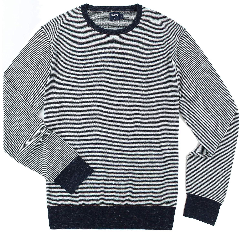 e64782633c0 J. Crew - Men s - Cotton Linen Crewneck Sweater (Multiple Color Size  Options) at Amazon Men s Clothing store