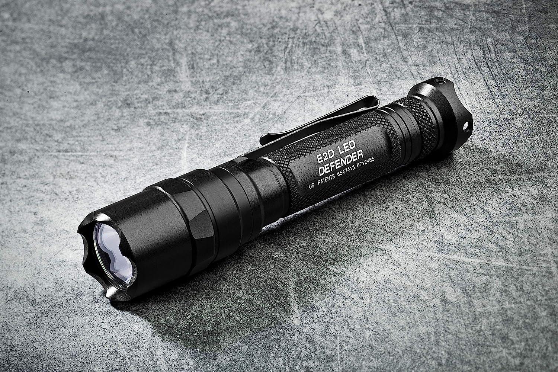 SureFire E2D Defender Ultra Dual-Output Flashlight w// Dual-Output Tailcap Click