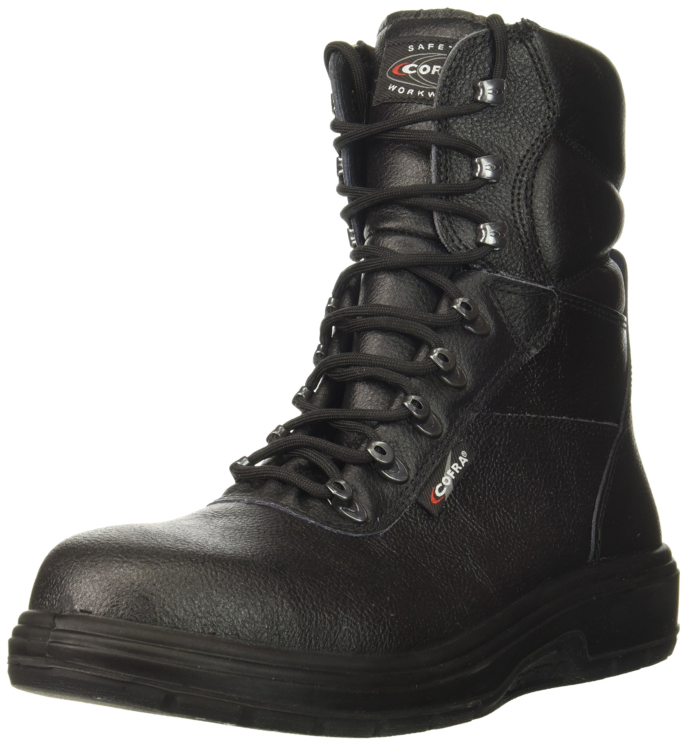 Cofra 82120-CU1.W11 Us Road EH PR Safety Boots, 11, Black by Cofra (Image #1)