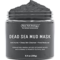 New York Biology Dead Sea Mud Mask for Face and Body - Natural Spa Quality Pore...