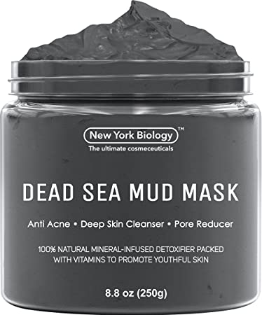 New York Biology Dead Sea Mud Mask for Face and Body - All Natural - Spa  Quality Pore Reducer for