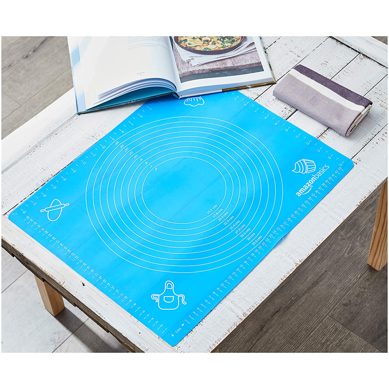AmazonBasics - Tapete de silicona para amasar y hornear 40 x 50 cm: Amazon.es: Hogar