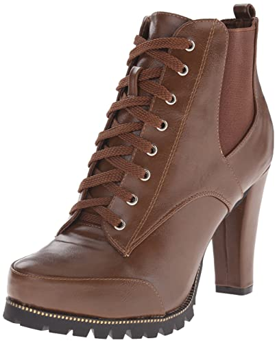 C LABEL Women's Binky 3 Boot, Brown, ...