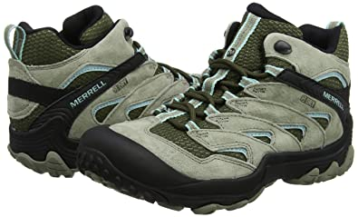 Amazon.com | Merrell Chameleon 7 Limit Mid Waterproof Women 9.5 Dusty Olive | Hiking Boots