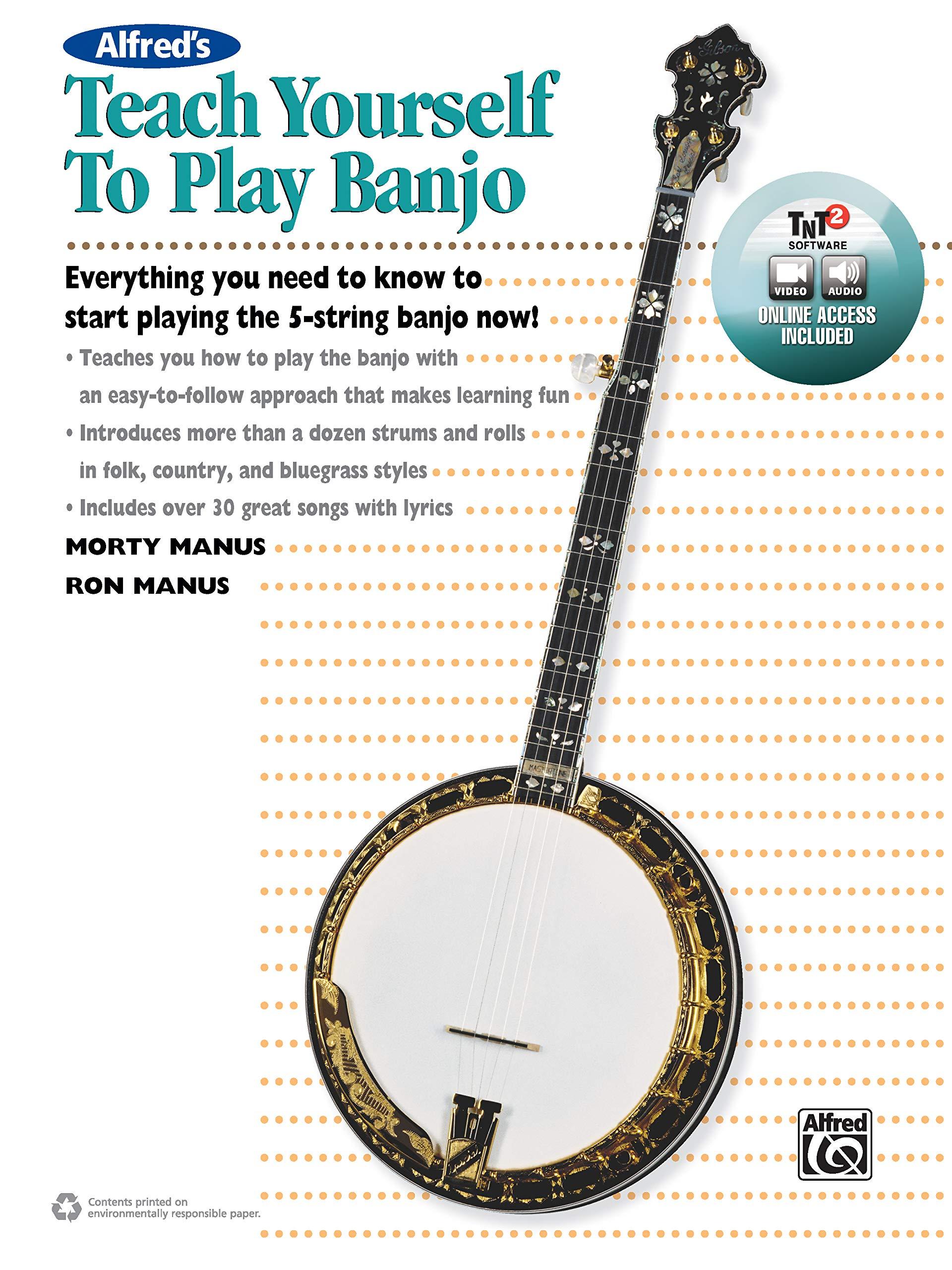 ABSOLUTE BEGINNER 5 STRING BANJO BOOK CD SET NEW