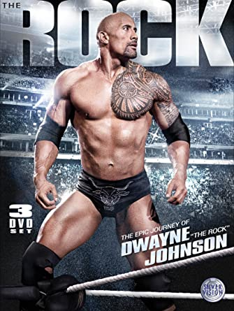 wwe the epic journey of dwayne the rock johnson dvd amazon co