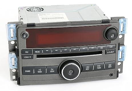 Amazon.com: Saturn Aura 2007-08 Radio AMFM 6 Disc CD Player w Aux ...