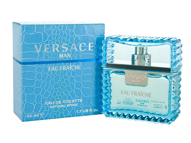 Versace Man Eau Fraiche By Gianni Versace For Men Edt Spray 1.7 Oz 157246