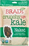 Brad's Plant Based, USDA Organic, Gluten Free, Crunchy Kale Chips, Naked, 2 Ounce (4 Count) (Packaging may vary)
