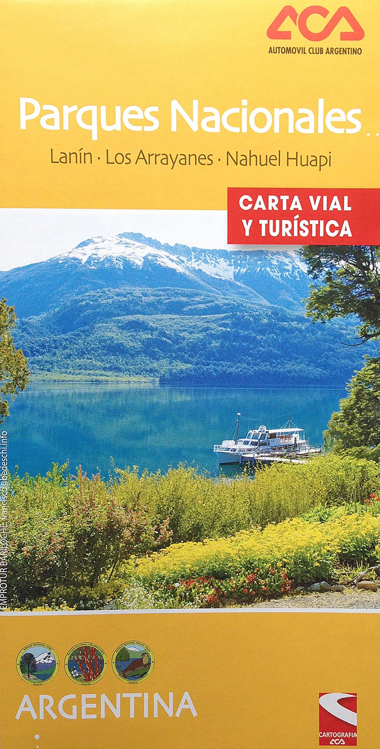 Parques Nacionales Argentina Map (Lanin / Los Arrayanes / Nahuel Huapi) (2015 Spanish Edition) PDF
